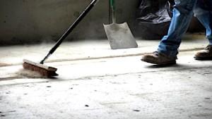 Problematika upratovacích prác na staveniskách obrázok